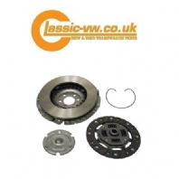 Mk1, Mk2 Golf 210mm 4 pc clutch kit (Sachs/Valeo) Scirocco, Caddy